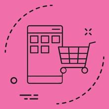 تصویر اپلیکیشن فروشگاهی اندروید و iOS