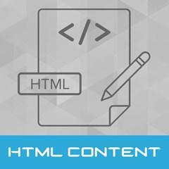 تصویر محتوای HTML